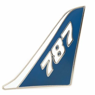787 Dreamliner Tail Pin