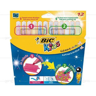 Bic Kids Colour&Create XL 12li