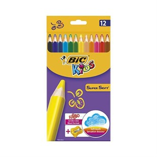 Bic Kids Super Soft 12li
