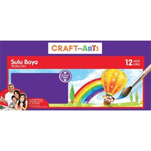 Craft and Arts Sulu Boya 12 Renk