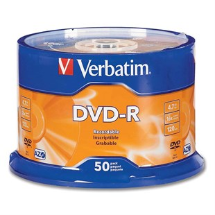 Verbatim DVD-R 16X 4.7GB 50li Cakebox