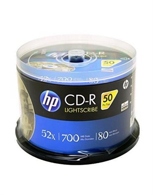 HP CD-R 52x 50li Cakebox