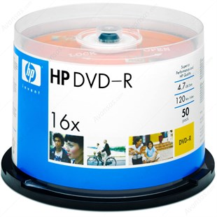 HP DVD-R 52x 50li Cakebox