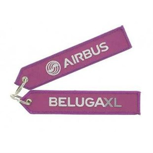 "Beluga Xl ""Remove Before Flight"" Key Ring"