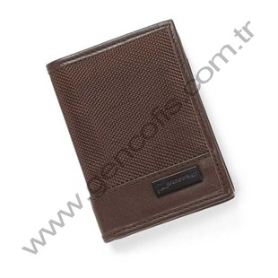 Nylon/Nappa Leather Card Case