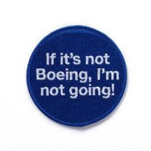 if its not boeing im not going !